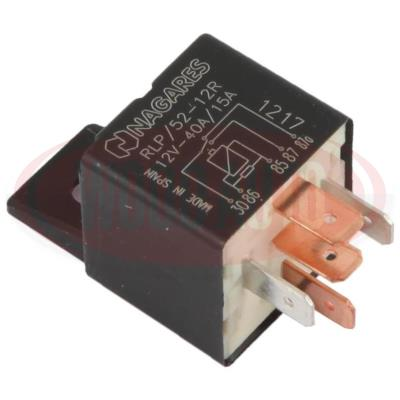 NAGARES RLP//52-12R 5 PIN 12V 40//15A CHANGE OVER MINI RELAY WITH RESISTOR