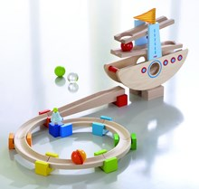 A marble run for under 3 year olds