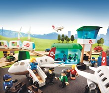BRIO Wooden Railway System Airport Theme