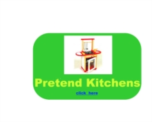 Kitchen, Food & Shop Role Play, Wooden Toy Kitchen