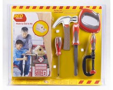 RED TOOLBOX Chldrens' Woodworking Kits and Tools