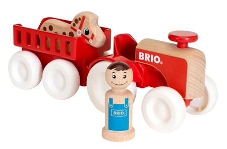 BRIO Farm Tractor Set 30265