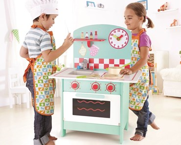 Hape Retro Aqua kitchen