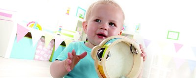 Musical Instruments for Young Children Tambourine