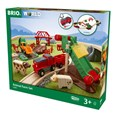 BRIO Animal Farm Set 33984 30 Piece Wooden Railway Set - Great Value