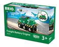 BRIO Freight Battery Engine 33214 for Wooden Train Set