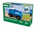 BRIO Cargo Battery Engine 33130 for Wooden Train Set
