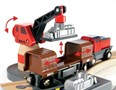 BRIO Cargo Harbour Set 33061 16 Piece Wooden Raiway Set - Great value