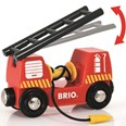 BRIO Emergency Fire Truck 33811 Accessory for Wooden Railway Set