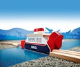 BRIO Ferry Ship 33569 for Wooden Railway Set