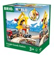BRIO Freight Goods Station 33280 for Wooden Railway Set
