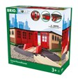 BRIO 33736 Grand Roundhouse 33736 for Wooden Railway Set