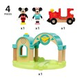 BRIO Mickey Mouse Record & Play Station 32270 for Wooden Train Set