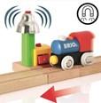 BRIO My First Railway Bell Signal 33707 Wooden Railway Accessory