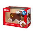 BRIO Pull Along Moose 30341 Toddler Pull Along Wooden Toy