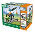 BRIO Smart Tech Container Crane 33962 Automated Extra for Wooden Railway Set