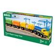 BRIO Three-Wagon Cargo Train 33982 for wooden railway