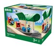 BRIO Train Station 33745 for Wooden Train Set