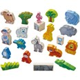 HABA Large Play Set At the Zoo 007633 24 Piece Set