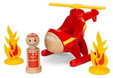 BRIO My Home Town - Fire Helicopter 30337