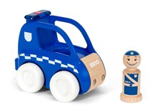 BRIO My Home Town - Light & Sound Police Car 30377 | 30377