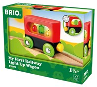 BRIO My First Railway Light Up Wagon | 33708