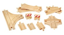 BRIO Advanced Expansion Set 33307 Wooden Railway Extra Track | 33307