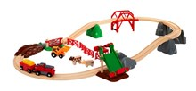 BRIO Animal Farm Set 33984 30 Piece Wooden Railway Set - Great Value | 33984
