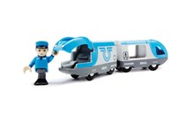 BRIO Travel Battery Train 33506 Battery Powered Train for Wooden Railway Set | 33506