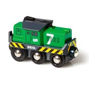BRIO Freight Battery Engine 33214 for Wooden Train Set | 33214