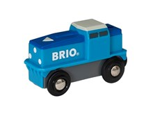 BRIO Cargo Battery Engine 33130 for Wooden Train Set | 33130