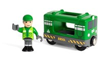 BRIO Cargo Engine with Driver 33894 for Wooden Train Set | BRIO 33894