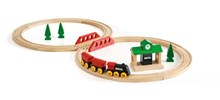 BRIO Classic Figure 8 Set 33028 22 Piece Wooden Train Set - Great Value | 33028