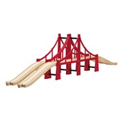BRIO Double Suspension Bridge 33683 Wooden Railway Accessory | 33683