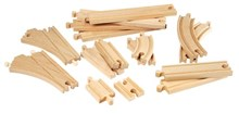 BRIO Intermediate Expansion Pack 33402 Wooden Railway Extra Track | 33402