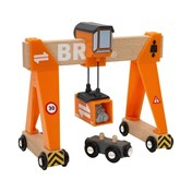 BRIO Gantry Crane 33732 for Wooden Railway Set