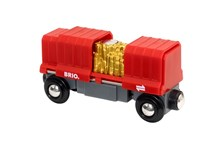 BRIO Gold Load Cargo Wagon 33938 for Wooden Tain Set | 33938