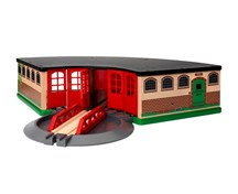 BRIO 33736 Grand Roundhouse 33736 for Wooden Railway Set | 33736