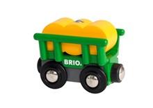 BRIO Hay Wagon 33895 Wooden Railway Extra Wagon | 33895