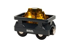 BRIO Light Up Gold Wagon 33896 Wooden Railway Extra Wagon | 33896
