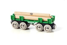 BRIO Lumber Loading Wagon 33696 for Wooden Tain Set | 33696