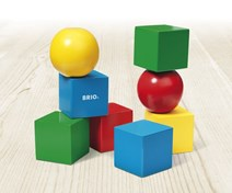 BRIO Magnetic Blocks 30123 Wooden Toddler Toy from 12 months | 30123