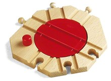 BRIO Mechanical turntable 33361Wooden Railway Accessory | Wooden Toy