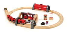 BRIO Metro Railway Set 33513 20 Piece Wooden Train Set - Great value | 33513