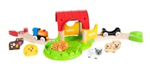 BRIO My First Farm 33826 12 Piece Interactive Farm Playset with Animals | 33826