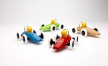 Brio Race Car 30077 Red, Blue, Green, or White Toddler Wooden Toy | 30077