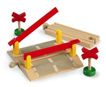 BRIO Level Crossing 33388 Wooden Railway Accessory | 33388