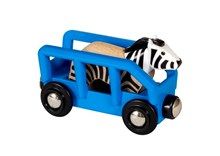 BRIO Safari Zebra & Wagon 33967 accessory for Wooden Train Set | 33967