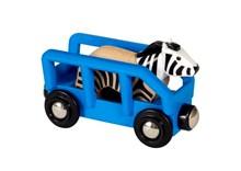 BRIO Safari Zebra & Wagon 33967 accessory for Wooden Train Set | 33967