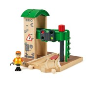 BRIO Signal Station 33674 Wooden Railway Track Accessory | 33674